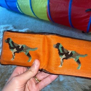 Smathers hunting dog wallet
